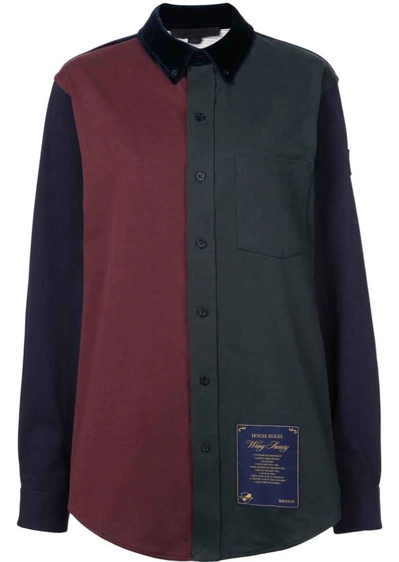 Alexander Wang colour block shirt