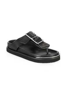 Alexander Wang Corin Buckle Flat Sandals