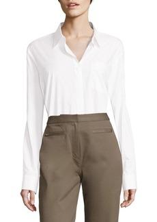 Alexander Wang Cotton Shirt Bodysuit