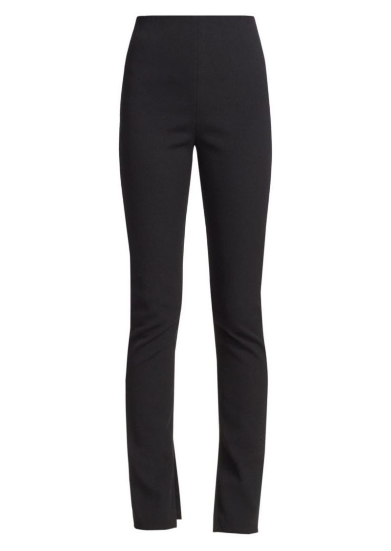 Alexander Wang Crepe Split-Cuff Trousers
