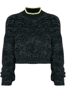 Alexander Wang cropped knitted jumper