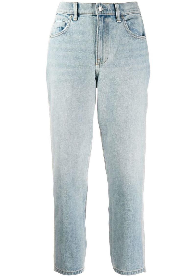 Alexander Wang cropped leg jeans