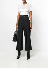 Alexander Wang deconstructed cropped trousers