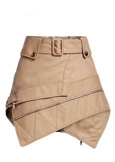Alexander Wang Deconstructed Trench Mini Skirt