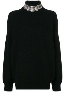 Alexander Wang embellished neck jumper