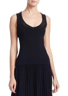 Alexander Wang Embellished Tank Top