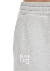 Alexander Wang Embroidered Cotton Blend Sweatpants