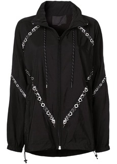 Alexander Wang eyelet details jacket