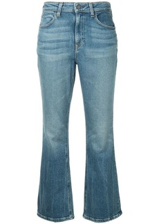 Alexander Wang faded bootcut jeans