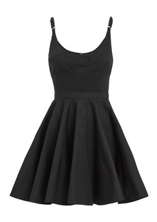 Alexander Wang Fit And Flare Mini Dress