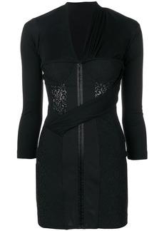 e8dfe6b5230 Alexander Wang Alexander Wang Velvet Fit and Flare Mini Dress
