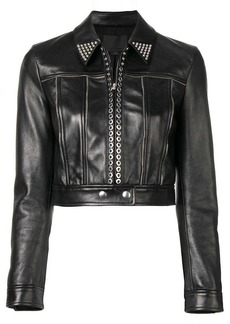 Alexander Wang fitted moto jacket