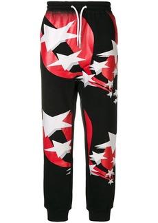 Alexander Wang flag print track pants