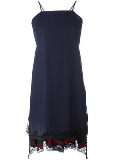 Alexander Wang flared apron dress