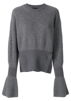 Alexander Wang flared sleeve knit jumper