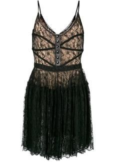 Alexander Wang floral bodice dress