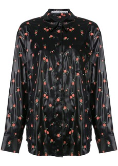 Alexander Wang floral print shirt