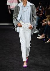 Alexander Wang Folded Cotton Denim Pants