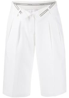Alexander Wang foldover knee-length shorts
