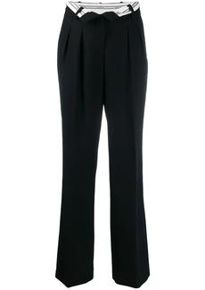 Alexander Wang foldover waist trousers