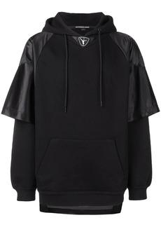 Alexander Wang Football hooded sweatshirt