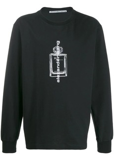 Alexander Wang fragrance bottle sweater