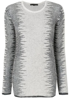 Alexander Wang Frayed Tunic sweater