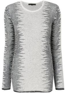 Alexander Wang Frayed Tunic sweater
