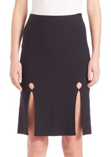 Alexander Wang Front Keyhole Pencil Skirt
