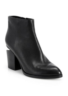 Alexander Wang Gabi Leather Ankle Boots