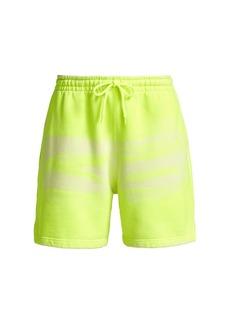 Alexander Wang Garment-Dye Neon Sweatshorts