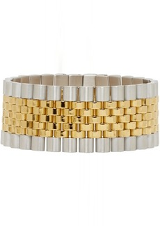 Alexander Wang Gold & Silver Watch Band Bracelet