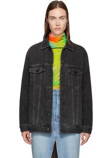 Alexander Wang Grey Oversize Daze Jacket