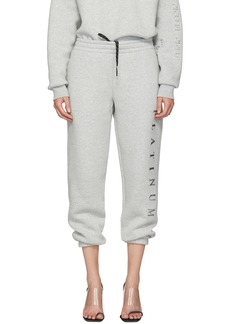 Alexander Wang Grey 'Platinum' Credit Card Lounge Pants