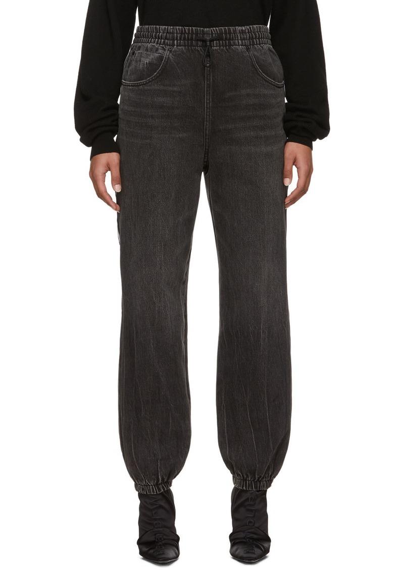 Alexander Wang Grey Track Pant Jeans