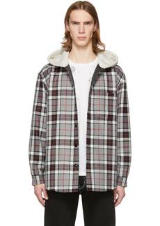 Alexander Wang Grey Wool Oversized Jacket