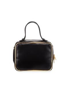 Alexander Wang Halo Leather Top-Handle Satchel Bag