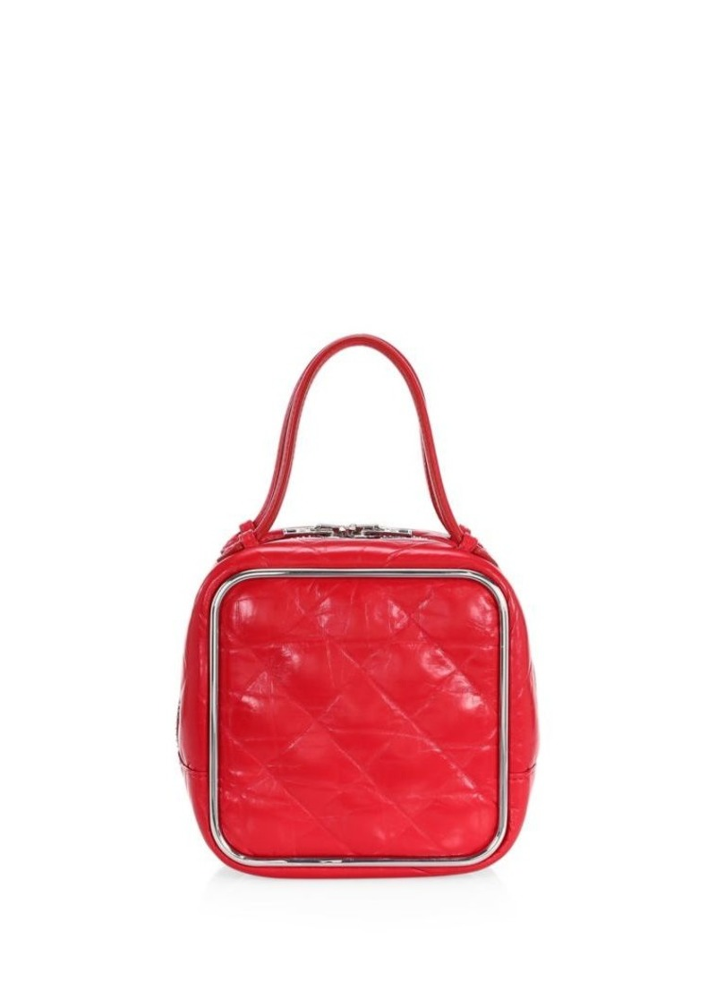 Alexander Wang Halo Quilted Leather Top Handle Bag