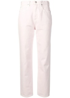 Alexander Wang high rise straight-leg jeans
