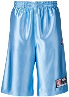 Alexander Wang high shine jersey shorts