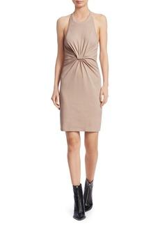Alexander Wang High Twist Jersey Halter Dress