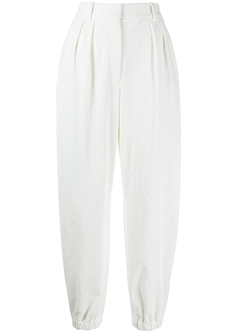 Alexander Wang high-waisted corduroy trousers