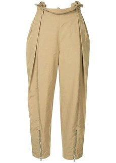 Alexander Wang high-waisted safari trousers
