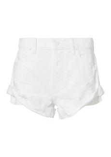 Alexander Wang Hiked Rolled Shorts