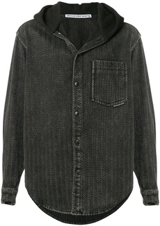 Alexander Wang hooded shirt jacket