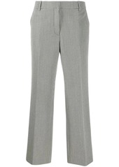 Alexander Wang houndstooth straight-leg trousers