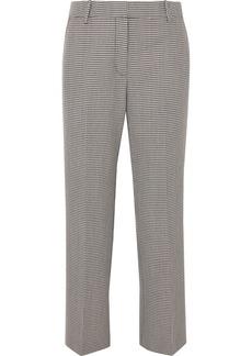 Alexander Wang Houndstooth Wool-blend Straight-leg Pants