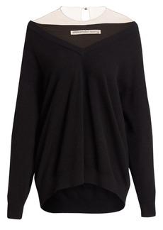 Alexander Wang Illusion Oversized Sweater