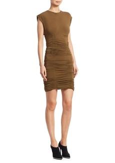 Alexander Wang Jersey Ruched Mini Dress