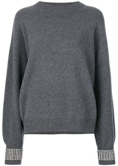 Alexander Wang jumper with crystals